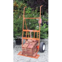 Border Concepts 30 inch Orange Tree & Shrub Cart