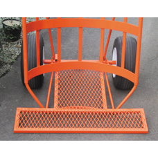 Border Concepts Orange Cart Utility T-Tray - BC-90555
