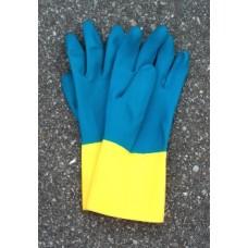 Carolina Glove Yellow & Blue