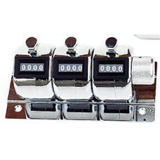 Keson Tally Meters, 3 Counters with Base