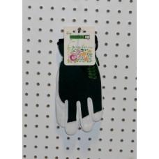 Garden Short Glove - Black/Green