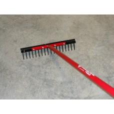 Wolverine 18 Inch Steel Landscape Rake - WLV SLR18